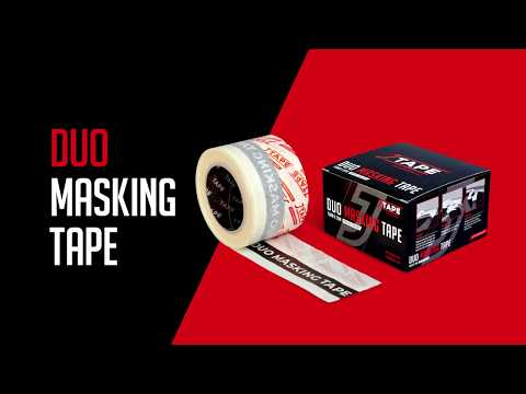 JTAPE Duo Masking Tape 75MM X 20 Mt