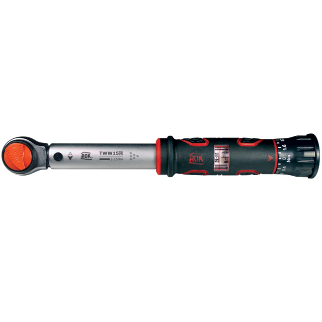 """KC 1/4""""DR Adjustable Torque Wrench (15Nm)"""