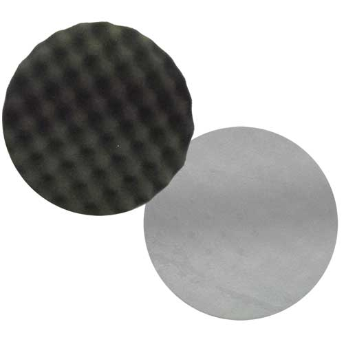 200mm Black Foam Pad Wave