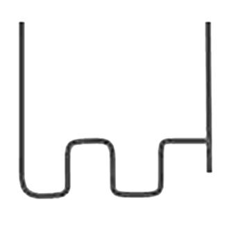 Wave Staples 0.6mm & 0.8mm (PK 100)