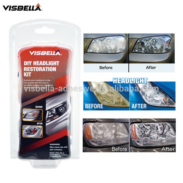 Visbella DIY Headlight Restoration Kit