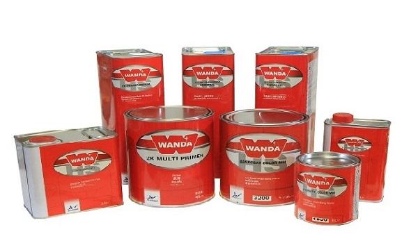 Wanda Solvent Basecoat Tinting System
