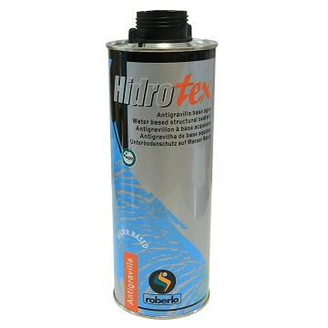Roberlo Hidrotex Water Base HS Stone Chip 1lt Black