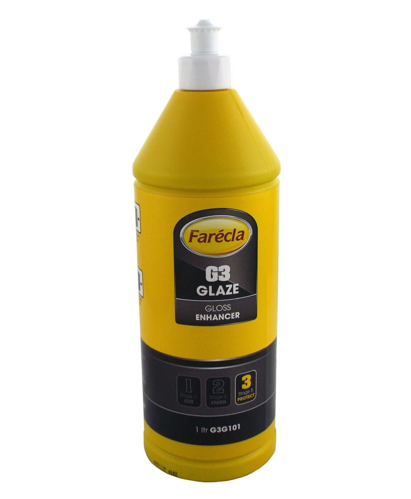 Farecla G3 Glaze Gloss Shine Enhancer Compound 1lt