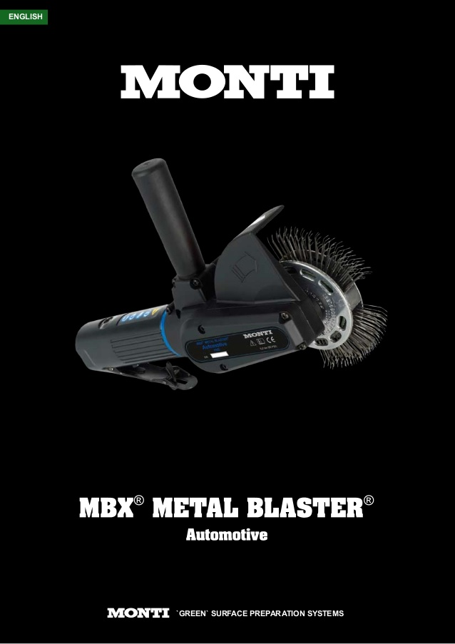 Monti MBX Metal Blaster Electric/Air