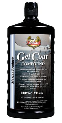 Presta Gel Coat Compound - 946ml