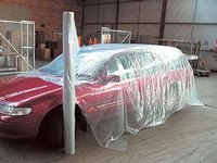 Overspray Protective Sheeting 3.8m X 200m P2 25µm