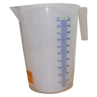 Plastic Mixing Jug with Handle: 5LT