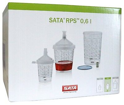 Sata RPS 650 & 900 Disposable Cup/Lid System 125 micron