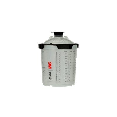 3M PPS Series 2.0 Spray Cup System Kit Standard (650 mL), 200u Micron Filter