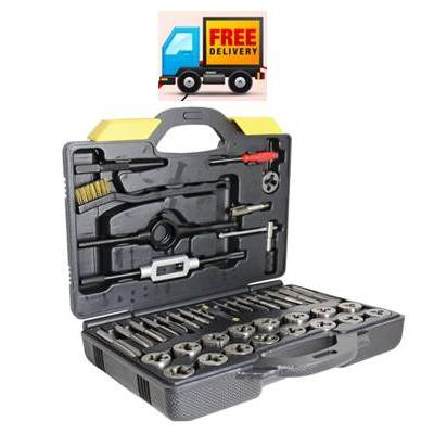 Alpha 42 Piece - Metric Tap and Die Set: General Purpose