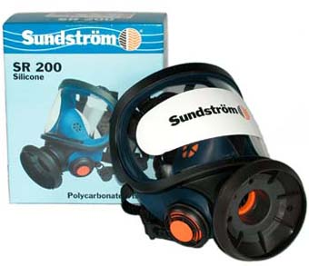 Sundstrom SR 200 Full Face Mask - Poly Visor