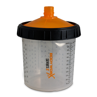 Bodyworx Disposable Paint Cup 600ml 190um (50)