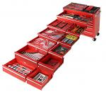 523 Piece Tool Kit In 11 Drawer Roll Cabinet