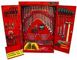 248 Piece Tool Kit In Wall Cabinet