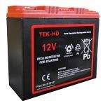Cranking Battery 12V-25AH TEK Red Top Professional Battery