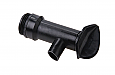 Black Plastic Drum Tap: 10mm Outlet