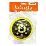 Velocity Velcro Face Pad 125mm DA 8 Holes