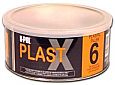 PLAST X 6 Smooth High Adhesion Body Filler for Plastics
