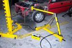 Floor Straightening System Half Short Rack