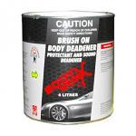 Bodyworx Brush On Body Deadener: 4 Litres
