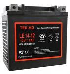 Cranking Battery 12v-14Ah TEK-HD Professional Battery