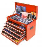 245 Piece Tool Kit In 9 Drawer Tool Box