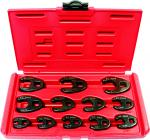 "12 Piece 3/8"" & 1/2"" Drive Crows Foot Set"