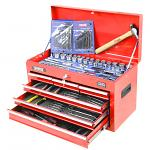 153 Piece Tool Kit iN 3 Drawer Tool Box