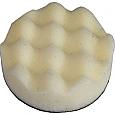 Waffle Polish Pad White 75mm